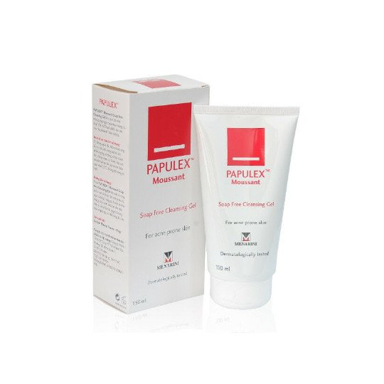PAPULEX MOUSSANT SOAP FREE CLEANSING GEL 150 ML