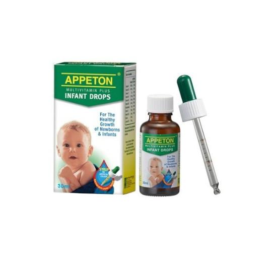 APPETON MULTIVITAMIN INFANT DROPS 30 ML