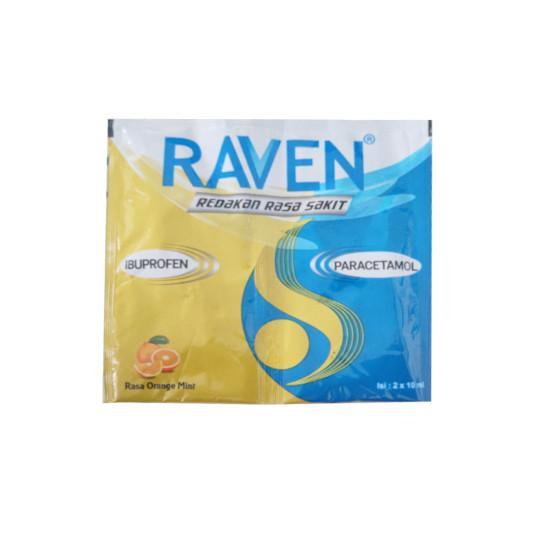 RAVEN SIRUP 10 ML 2 SACHET
