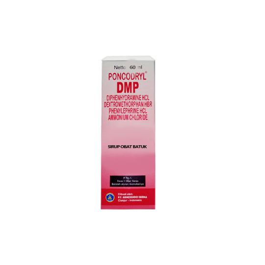 PONCODRYL DMP SIRUP 60 ML