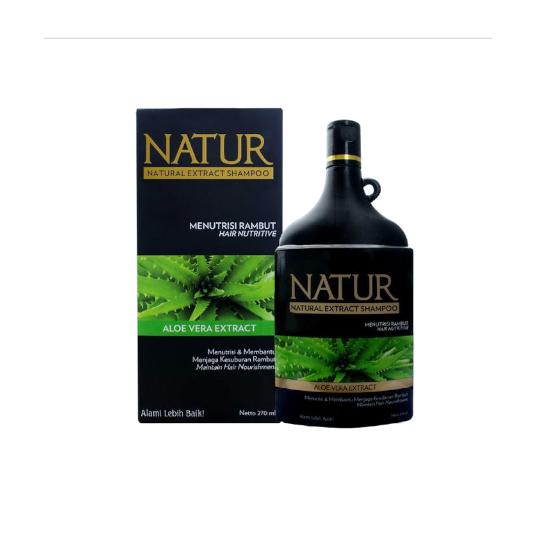 NATUR SHAMPOO HAIR NUTRIVE ALOE VERA 270 ML
