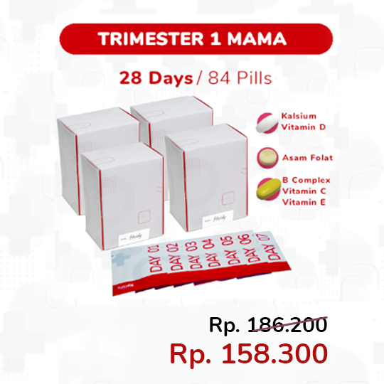 TRIMESTER 1 MAMA PACKAGE (28-DAYS)