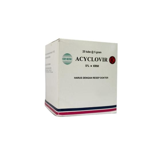 ACYCLOVIR 5% CREAM 5 G