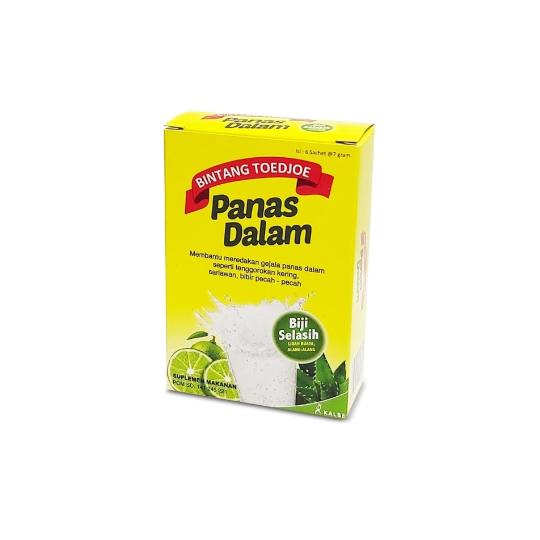 BINTANG TOEDJOE PANAS DALAM 6 SACHET