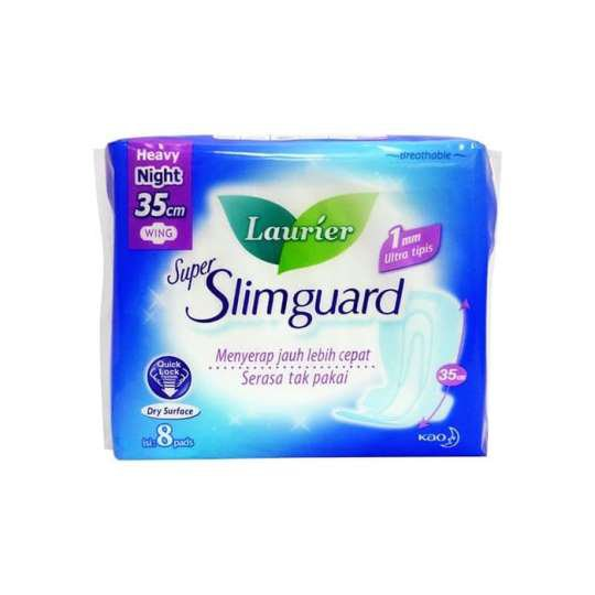 LAURIER SUPER SLIMGUARD NIGHT 35 CM 8 PADS