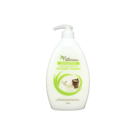 NATURIAN SHOWER CREAM PURE GOATS MILK 1000 ML