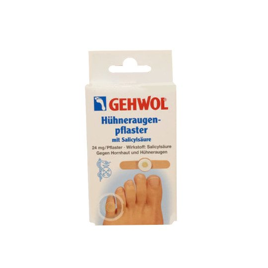 GEHWOL CORN PLESTER WITH SALICYLIC ACID 6 LEMBAR
