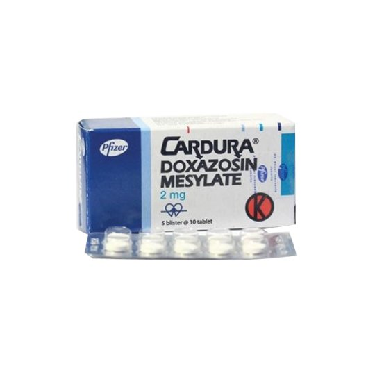 CARDURA 2 MG 10 TABLET