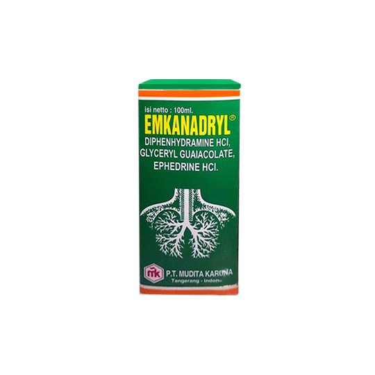 EMKANADRYL EXPECT SYR 100ML