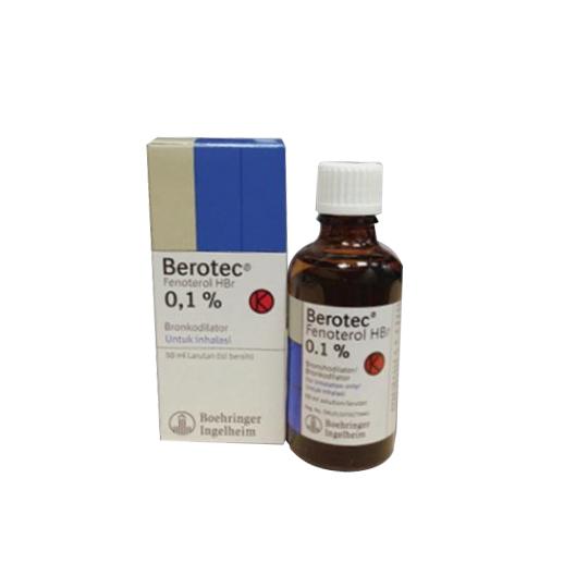 BEROTEC 0.1% INHALASI 50 ML