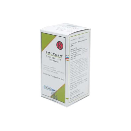 AMOXSAN DRY SIRUP 60 ML