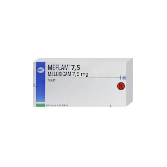 MEFLAM 7.5 MG 10 TABLET