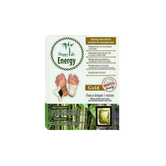 HAPPY LIFE ENERGY GOLD FOOT PATCH
