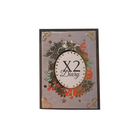 X2 DIARY SUGAR GREY - NO MINUS