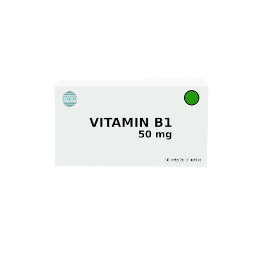 VITAMIN B1 50 MG 10 TABLET