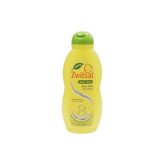 Zwitsal Baby Bath Natural 2 in 1 Hair & Body 200 ml