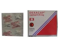 DEXACAP 25 MG 6 TABLET