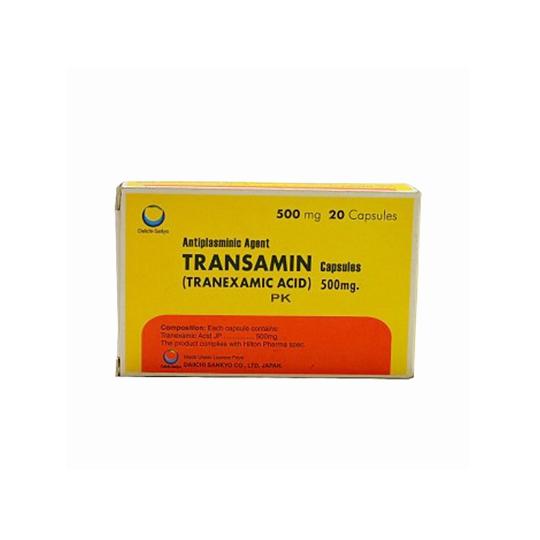 TRANSAMIN 500 MG 10 TABLET