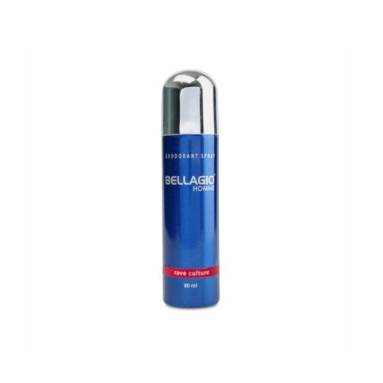 BELLAGIO DEODORANT SPRAY RAVE CULTURE 80 ML