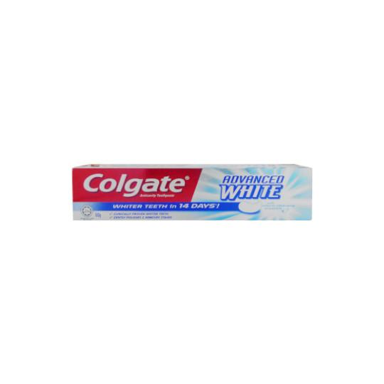 COLGATE TOOTHPASTE ADVANCED WHITE 160 G