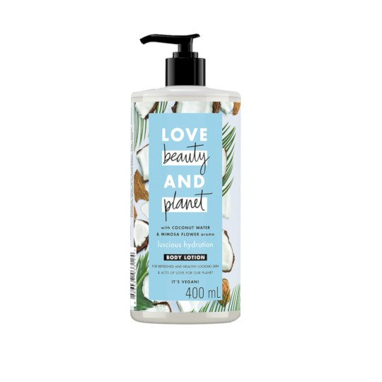 Love Beauty & Planet Coconut Water & Mimosa Flower Luscious Hydration Body Lotion 400 ml