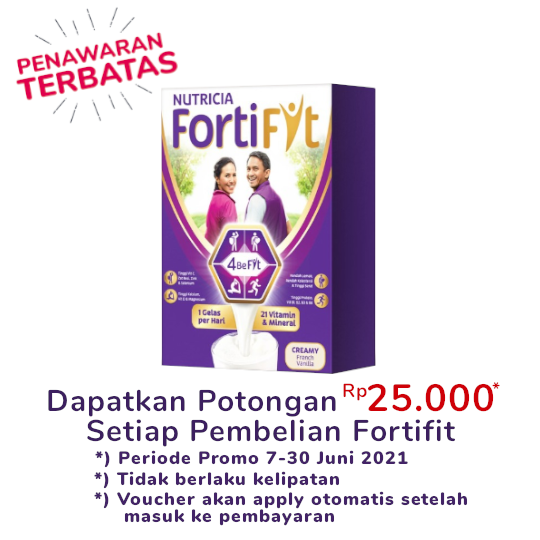 Nutricia Fortifit French Vanilla 510 g