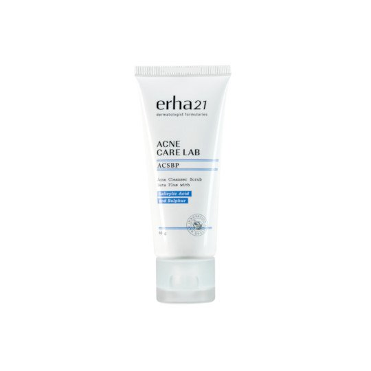 ERHA21 ACNE CARE LAB ACNE CLEANSER SCRUB BETA PLUS 60 G