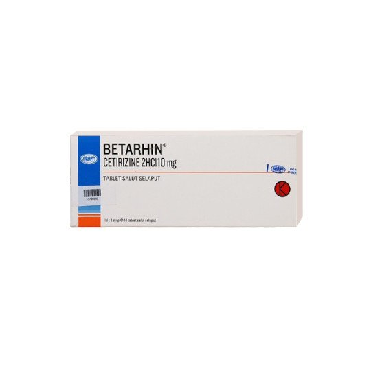 BETARHIN 10 MG 10 TABLET