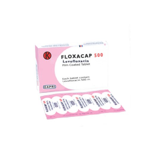 FLOXACAP TABLET 500 MG