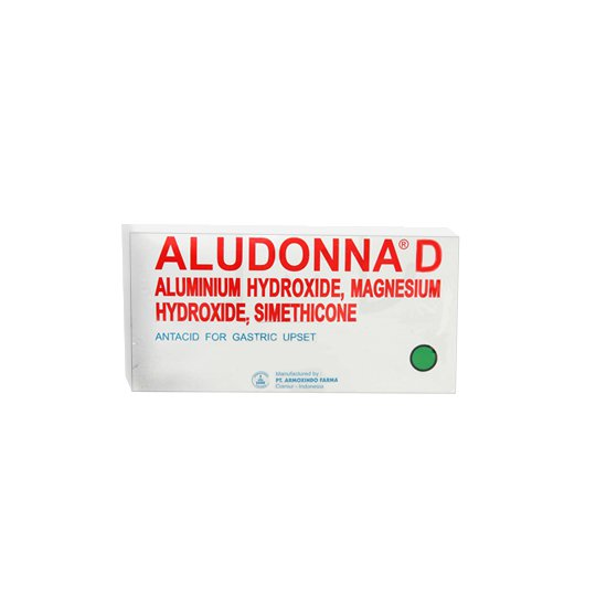 ALUDONNA D 10 TABLET