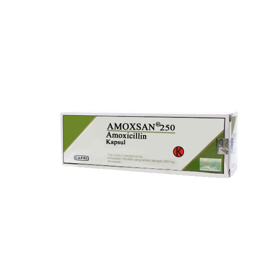 AMOXSAN 250 MG 10 TABLET DISPERSIBLE