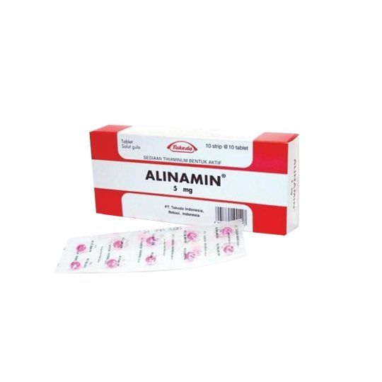 ALINAMIN 5 MG 10 TABLET