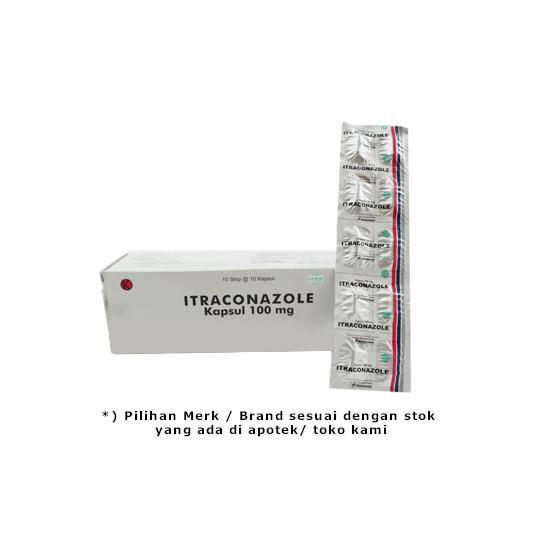 Itraconazole 100 mg 10 Kapsul