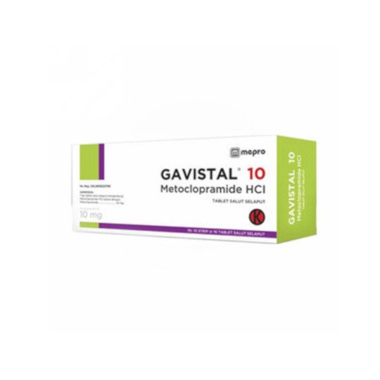 GAVISTAL 10 MG 10 TABLET