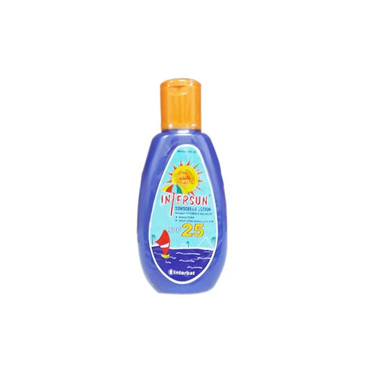 INTERSUN LOTION 100 ML