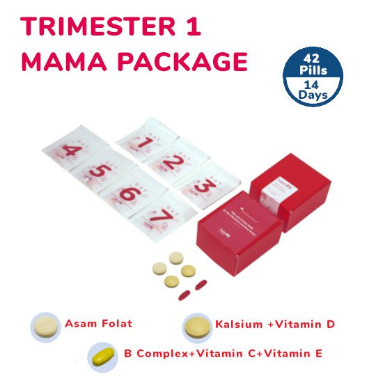 TRIMESTER 1 MAMA PACKAGE (14-DAYS)