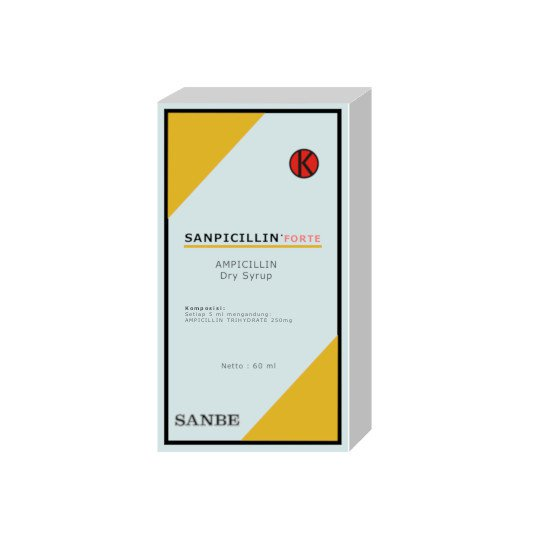 SANPICILLIN FORTE SIRUP 60 ML