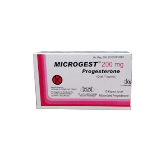MICROGEST 200 MG 15 KAPSUL