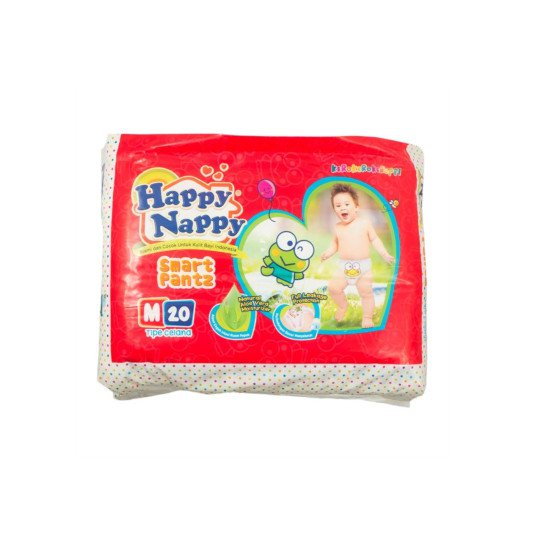 HAPPY NAPPY PANTS M 20 PIECES