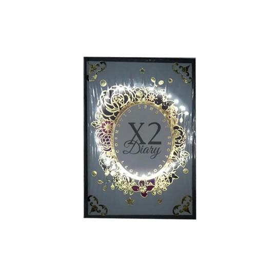 X2 DIARY GREY - NO MINUS