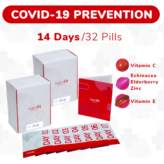 COVID-19 PREVENTION PACKAGE (14-DAYS)