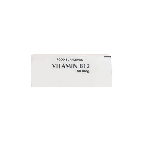 VITAMIN B12 50 MCG 10 TABLET