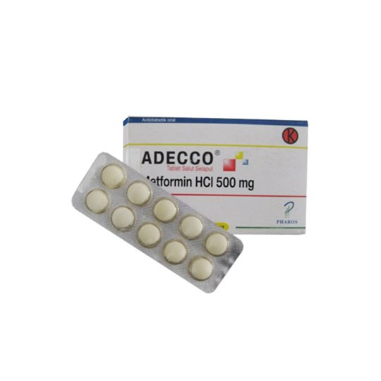 ADECCO 500 MG 10 TABLET