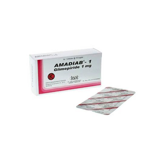 AMADIAB 1 MG 10 KAPLET