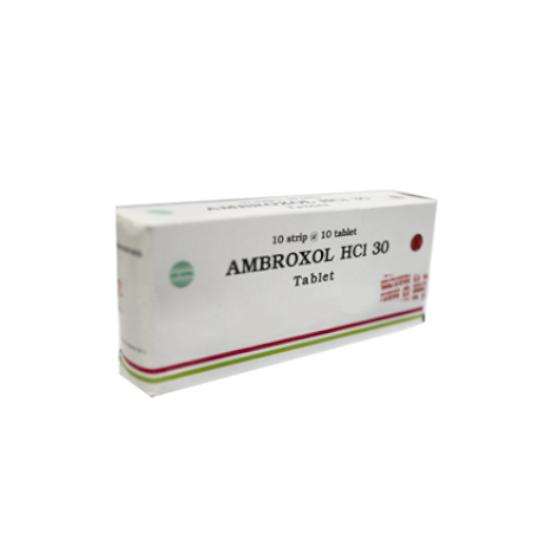 AMBROXOL 30 MG 10 TABLET