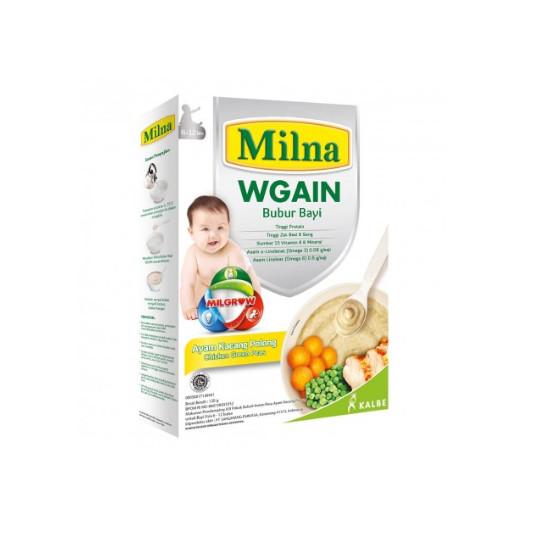 Milna 6-12 Wgain Ayam Kacang Polong 120 g