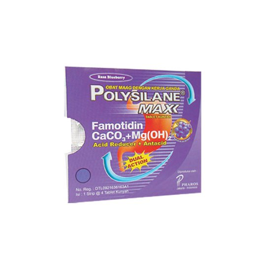 POLYSILANE MAX BLUEBERRY 4 TABLET
