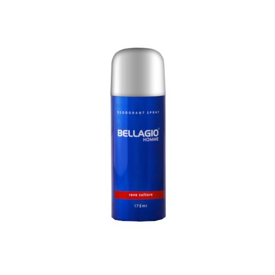 BELLAGIO DEODORANT SPRAY RAVE CULTURE 175 ML