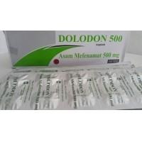 DOLODON 500 MG 10 KAPLET