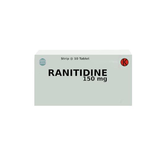 RANITIDINE 150 MG 10 TABLET